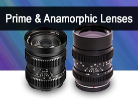Prime and Anamorphic Lenses